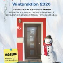 therma Haustür Winteraktion 19/20
